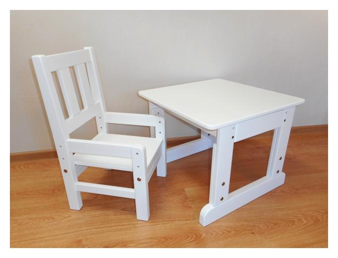 Laste laud ja tool reguleeritav