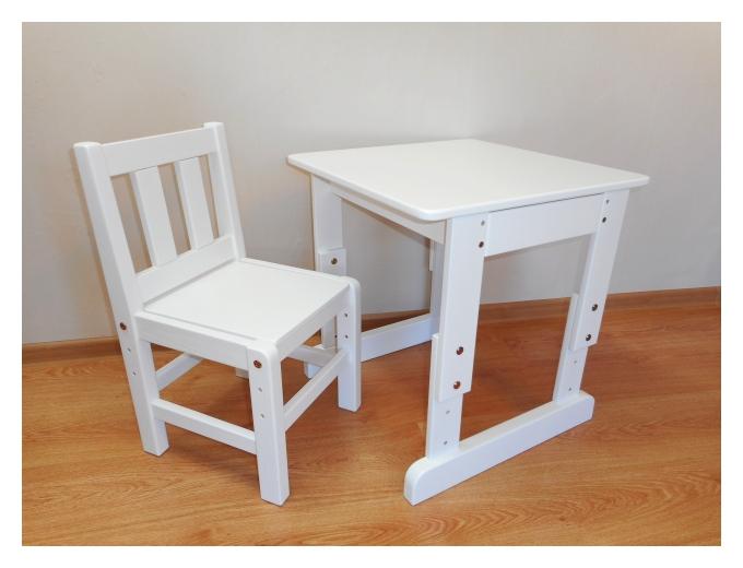 Reguleeritav puidust lastelaud tool