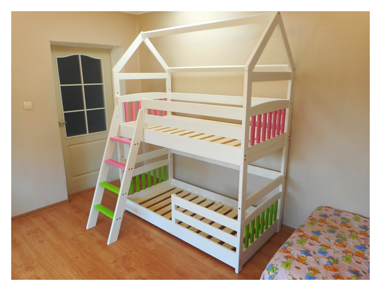 Maja narivoodi - Lastevoodite valmistamine eritellimusel mitmes värvitoonis ning madratsi mõõdus näiteks 90x200 80x160 70x140